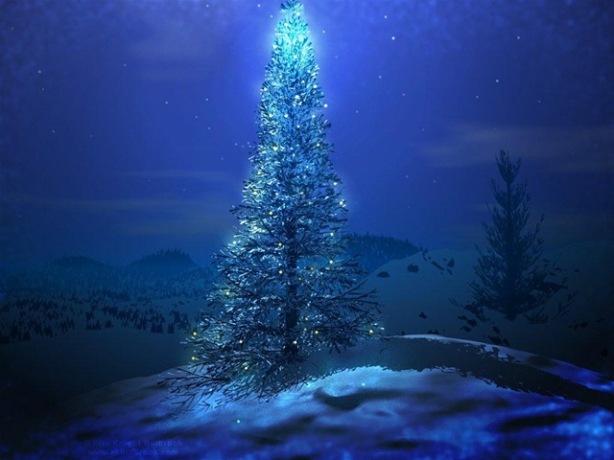 arbol-de-navidad-en-la-nieve