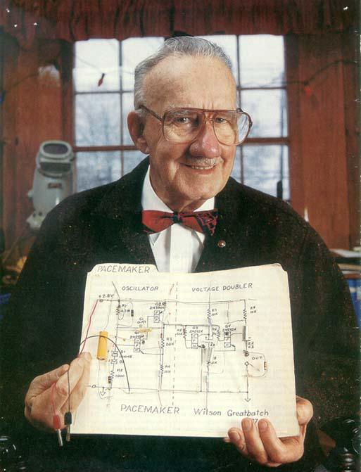 Wilson Greatbatch, marcapasos, inventos, historia, anecdotas