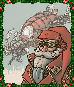 cANDIL NAVIDADSteampunk_Santa_by_CyborgNecromancer