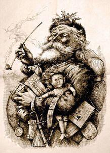 Ilustración de 1881 por Thomas Nast