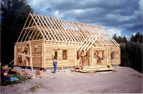 Construir tu propia casa de madera
